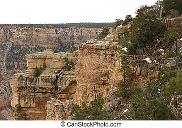 Plateau of the Canyons - One plateau of the Grand Canyons in...