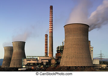 Power plant - Picture of a coal power plant