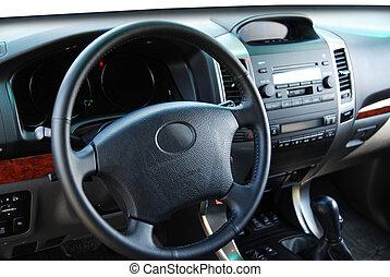 off road car cockpit