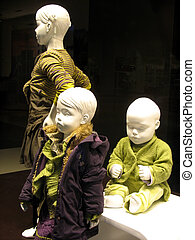 Mannequins 3 - Mannequins very focused on showing some...