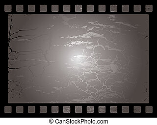 mottled film background - Mottled film background in black...