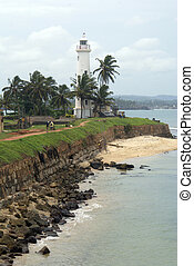 South wall of Galle - South wall of fort Galle, Sri Lanka