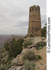 Grand Canyon Castle - Building in the shape of a castle on...
