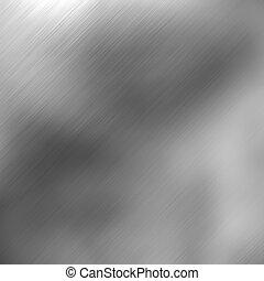 Brushed aluminum highlights - A brushed aluminum background...