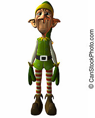 Toon Elf - 3D Render