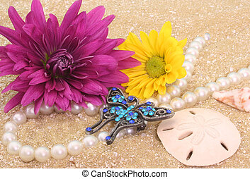 Flowers and Jewelry