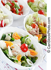 Small salads - Small salad, low calorie eating