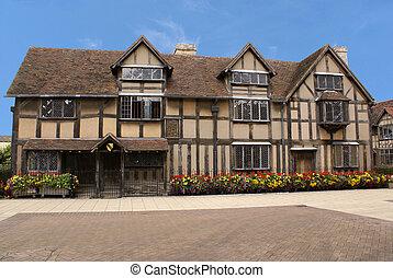 Shakespeares, casa