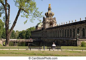 Kronentor in Dresden