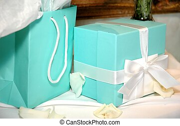 Gifts on Table - Gifts on table at special occasion.