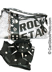 Rock symbols - Cool rock symbols for rockers isolated on the...