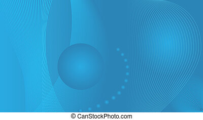 wide screen blue abstract background