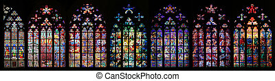 St Vitus Stained Glass Window collection - St. Vitus...