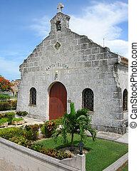 cuban church - Santa Elvira church in Varadero, Cuba