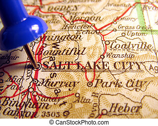 Salt Lake City, Utah, the way we looked at it in 1949