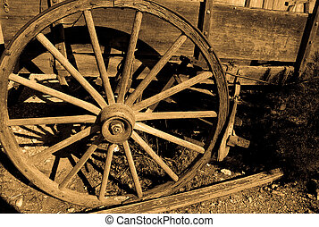 Wagon Wheel - Picture of a Wagon Wheel