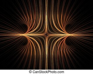 Electrical field abstract - Abstract fractal background....