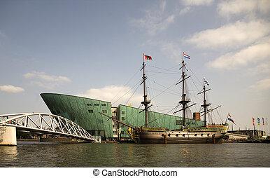 """Dutch tall ship 3 - The dutch tall ship \\\""""Amsterdam\\\"""" in..."""
