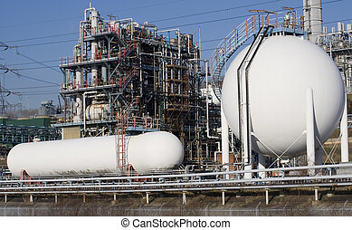 Factory - View of a chemical factory