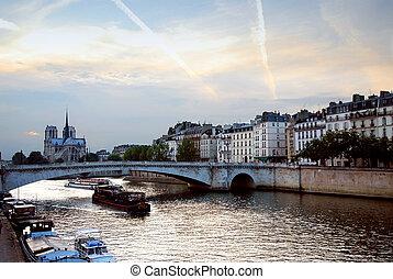 Evening Seine