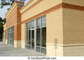 Modern Shopping Center - Newly constructed commercial space...