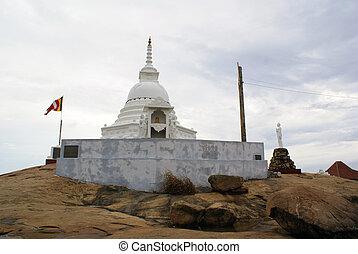Stupa - Kataragama temple, Kirinda, Sri Lanka