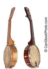 Banjo-Ukeleles, De, el, rugido, años 20