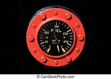 Industrial Fuel Gauge