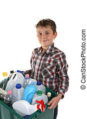 Child carrying recycling