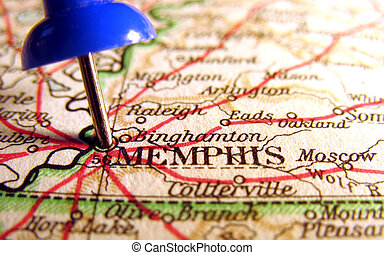 Memphis, Tennessee, the way we looked at it in 1949