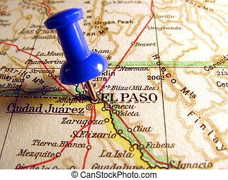El Paso, Texas, the way we looked at it in 1949
