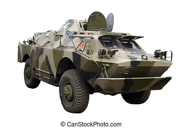 BRDM-1 - BRDM - 1, soviet armoured personnel carrier...