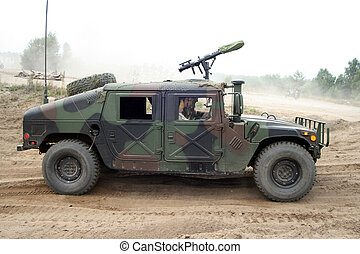 Hummer - US military truck Hummer H1 Humvee