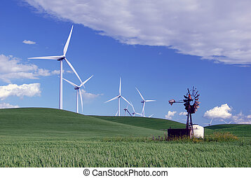 Novo, Moinhos vento, antigas