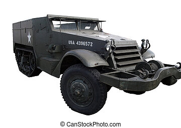 Half-track - M3, US half - track from world war