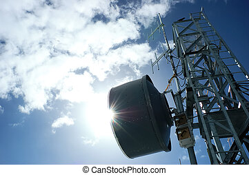 TELECOMMUNICATION TOWER - Telecommunication tower in...