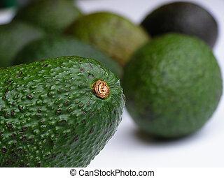 zielony, Awokado