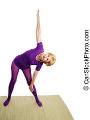 Senior Yoga - Triangle Pose