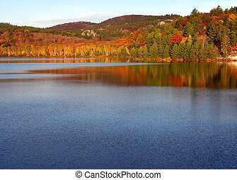 A falls morning - A fall morning in Killarney Provincial...