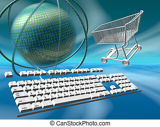 Data servers internet shopping - A free interpretation of...