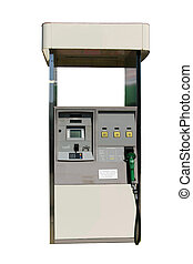 Gas Pump - This is a picture of an electronic fuel pump with...