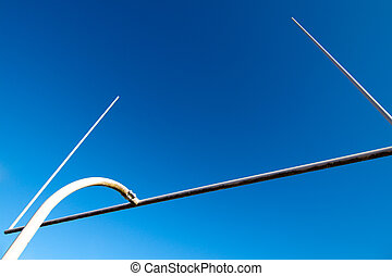 Football goal post - A shot of american football goal post