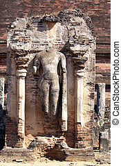 Buddha near Rankot Vihara - Polonnaruwa, Sri Lanka