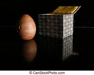 Xun, Tang Dynasty Ocarina, with gift box - Tang Dynasty...