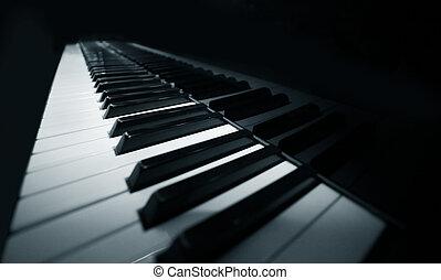 magnífico, piano