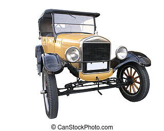 1926 Ford Model T - A 1926 Ford T isolated with a clipping...