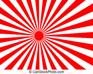 japansese rising sun - large red and white japansese rising...
