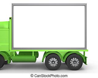 Billboard on Truck