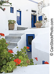 Greek house - Greek aegean house