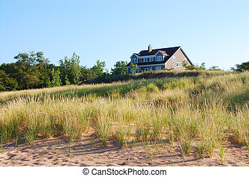 Residential Vacation Home on Lake Michigan, USA - Secluded...